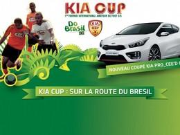 Coupe du monde de football: Kia ira droit au but  au Brésil