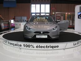 En direct du Mondial de Paris : les photos du Concept Exagon Furtive e-GT