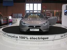 En direct du Mondial de Paris : les photos du Concept Exagon Furtive e-GT