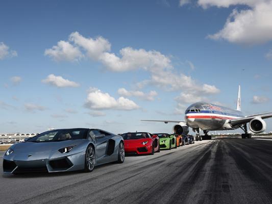Lamborghini fait décoller l'Aventador Roadster à Miami