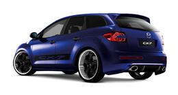 Mazda CX7 GT au Paris Tuning Show