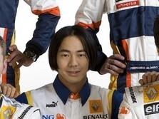 Yamamoto dans la Renault F1 R28