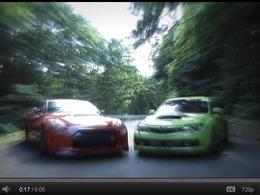 Touge Street : Nissan GT-R MCR 800 ch vs Subaru Impreza WRX STI C-SER 450 ch