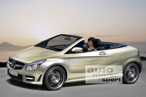 future mercedes classe a cabriolet comme a. Black Bedroom Furniture Sets. Home Design Ideas