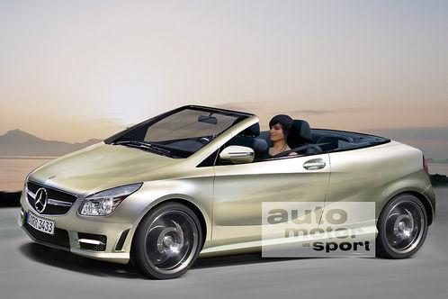 Future Mercedes Classe A cabriolet: comme ça?