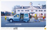 Nouveau Renault Kangoo: Testé par les Simpson [Pub]
