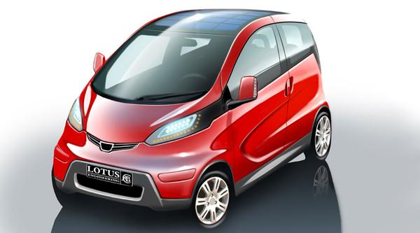 Lotus electric city car: 1ères images & infos