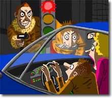 On vole des airbags   pour sniffer leur gaz !