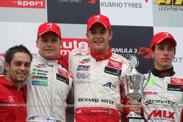 F3/Zandvoort: Jules Bianchi réalise le doublé!