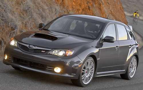 Subaru France 2008 : les détails de l'Impreza STI d'abord ...