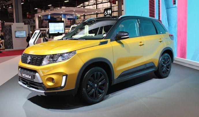 Suzuki Vitara restylé - adieu diesel - Vidéo en direct du Mondial de Paris
