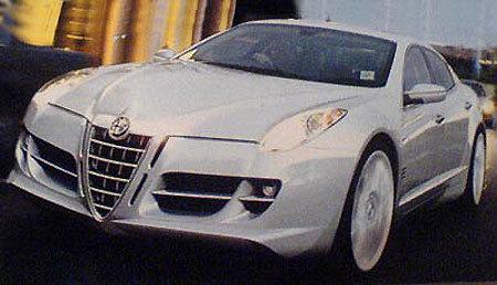Future grande Alfa Romeo: Diva sera son nom