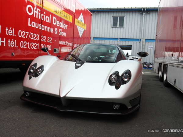 Photos du jour : Pagani Zonda C12F (Sport & Collection)