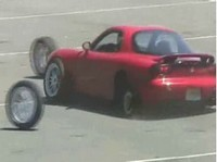 Vidéo : Si tu ne serres pas tes roues..