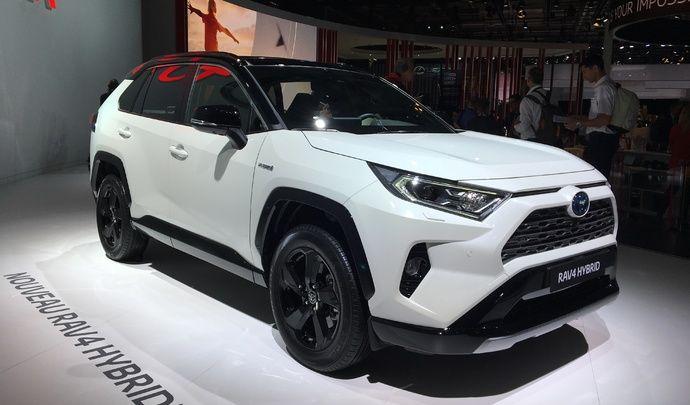 Toyota Rav-4 : hybride only - Vidéo en direct du Mondial de Paris 2018