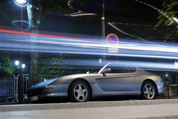 Photos du jour : Ferrari 456