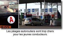 """""""AUTOROUTES GRATUITES   POUR LES JEUNES PERMIS"""""""