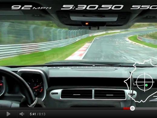 Chevrolet Camaro ZL1 : plus rapide qu'une Porsche 911 GT3 au Nürburgring