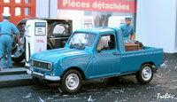 Miniature : 1/43ème - RENAULT 4 pick-up