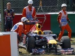 Sebastian Vettel revient sur son accident