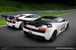 Reiter Lamborghini LP560 GT3: Nouvelle arme pour le GT3... et le GT2!