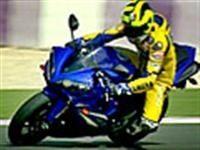 Rossi nous fait une démonstration aux commandes de la YZF-R1 2007