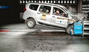 Renault Lodgy : 0 étoile aux crash tests et pas d'airbags