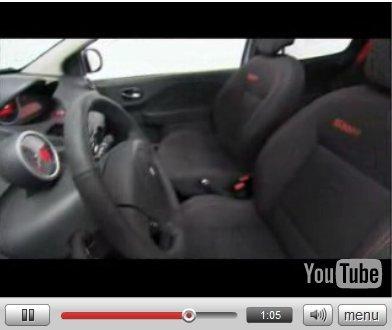 Vidéo : La Renault Twingo RS montre son intérieur