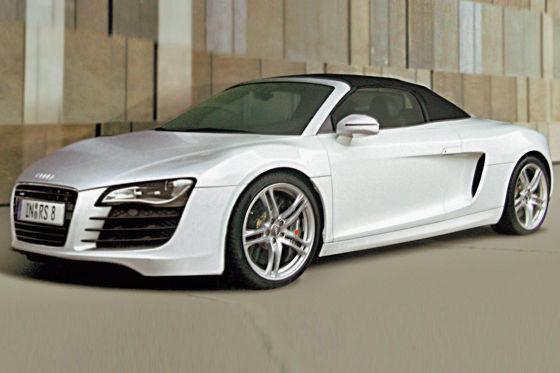 Audi R8 Spyder: comme ça elle sera!