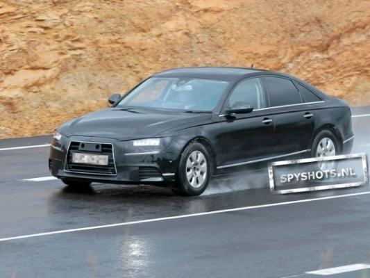 Spyshot : prochaine Audi A6, ça se précise