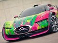 Survolt par Françoise Nielly : Citroën se la joue Art Car