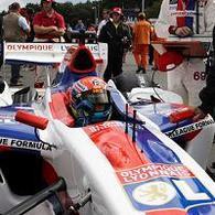 Superleague Formula - Nelson Panciatici: Une forme olympique pour les Lyonnais à Zolder