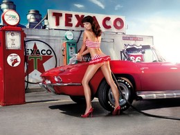 Calendrier Miss Tuning 2011 : presque classe