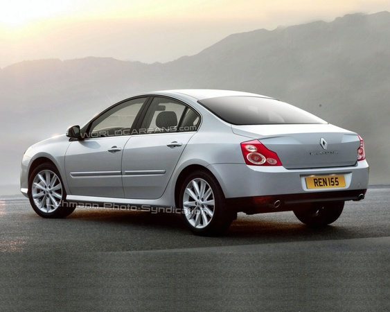 Future Renault Laguna Sedan : pas comme ça, hein ?