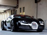Photos du jour : Bugatti Veyron Sang Noir