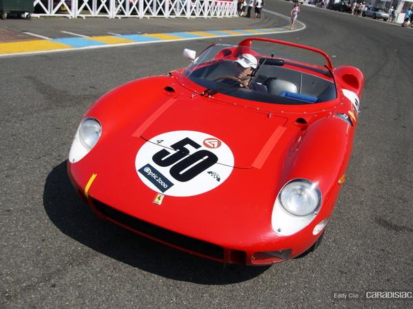 Photos du jour : Ferrari 275-330 P 1964 (Le Mans Classic)