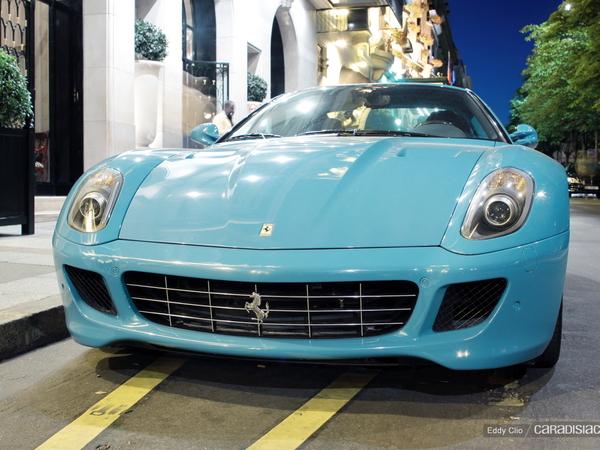 Photos du jour : Ferrari 599 GTB Fiorano