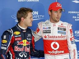 F1-GP du Japon: La course pour Button, le titre pour Vettel !