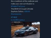 BMW cible des internautes après une blague sur le confinement