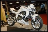 PTS 2009 en direct : Kawasaki Z750 «White Power»