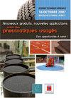 Journée technique nationale : nouveaux produits, nouvelles applications issus des pneumatiques usagés