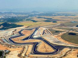 F1 : voilà où en est la construction du circuit de Corée .