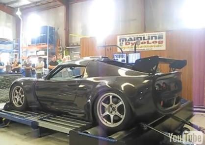 Lotus Exige Full carbone, l'arme pour pousser de la Veyron?