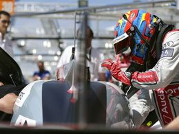 Loïc Duval (Audi) victime d'un crash aux essais libres des 24 Heures du Mans