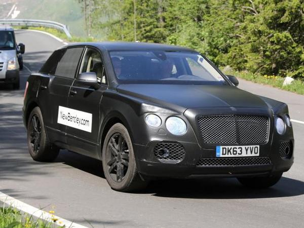 Le futur Bentley SUV surpris