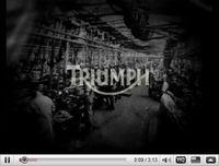 Toute l'histoire de Triumph en trois minutes... [vidéo]