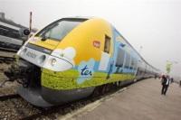 "Bombardier : le train régional ""hybride bibi"" inauguré !"