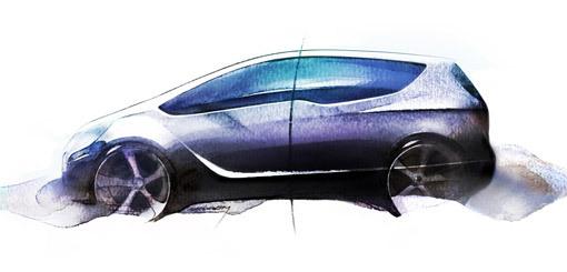 Opel Meriva Concept pour Geneve