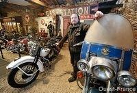 Un musée Harley-Davidson dans le vignoble Nantais