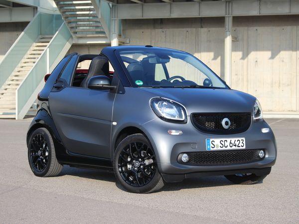 Smart Fortwo cabrio : en avant-première, les photos de l'essai